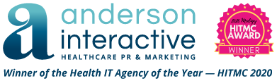 Anderson Interactive | Winner of the Health IT Agency of the Year — HITMC 2020